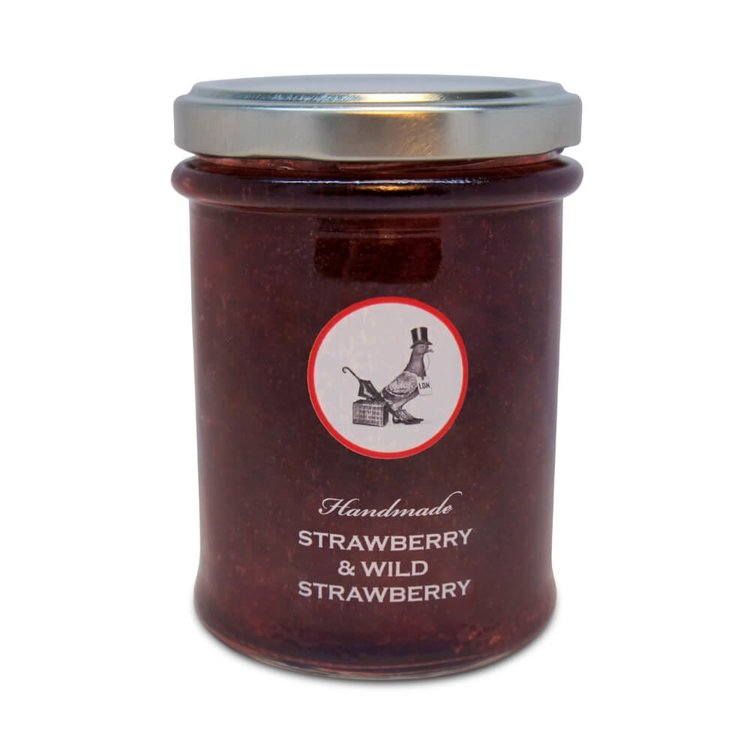 French Wild Strawberry & English Strawberry Handmade Jam 240g