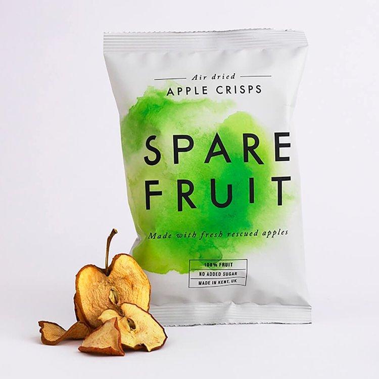 24 x Kentish Apple Fruit Crisps Snack Air-Dried & 100% Natural (24 x 20g)