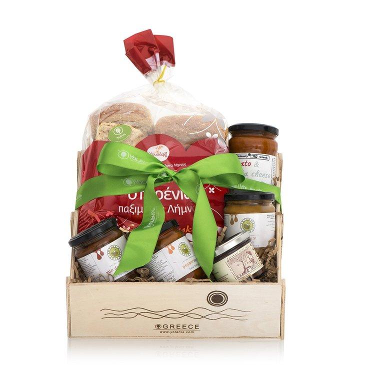 Greek Pâtés Gift Crate
