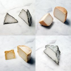 4 Artisan Cheese Selection of Goat's & Ewes Cheeses by White Lake