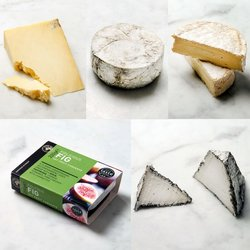 Ultimate Artisan English Cheese Board Inc Tunworth, Quicke's Cheddar, Barkham Blue & Tor Pyramid