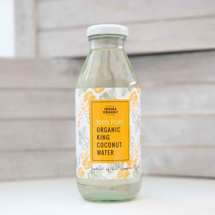 Organic King Coconut Water From Sri Lanka 360ml
