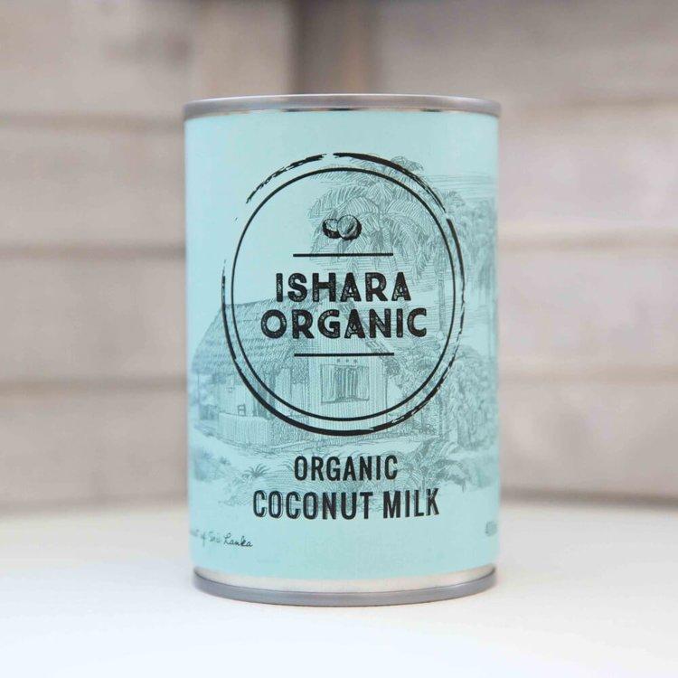Organic Coconut Milk 4 x 400ml From Sri Lanka