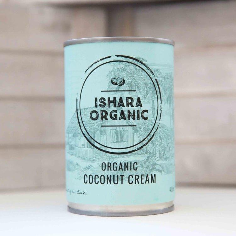 Organic Coconut Cream 4 x 400ml From Sri Lanka