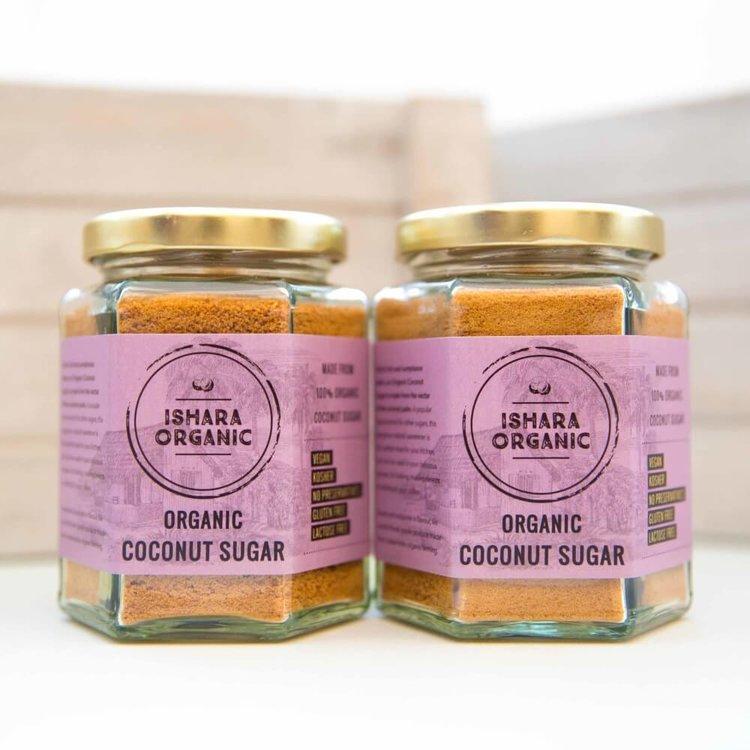 Organic Coconut Sugar 2 x 150g Natural Sweetener