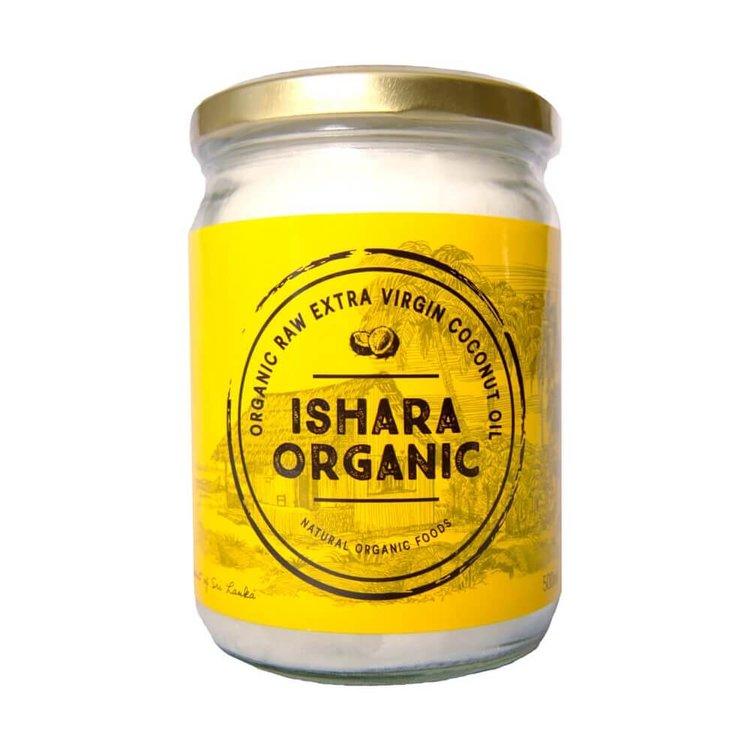 Extra Virgin Coconut Oil 500g (Cold Pressed, Raw & Organic) From Sri Lanka