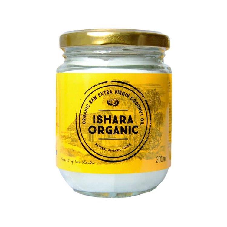 Extra Virgin Coconut Oil 200g (Cold Pressed, Raw & Organic) From Sri Lanka