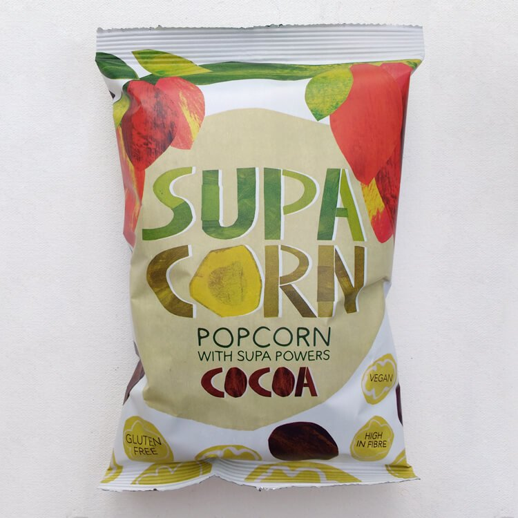 20 x Popcorn with Cocoa (20 x 25g Snack Bags)