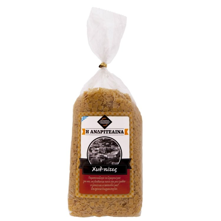Hilopites (Small Cut Square Pasta, Homemade) 500g