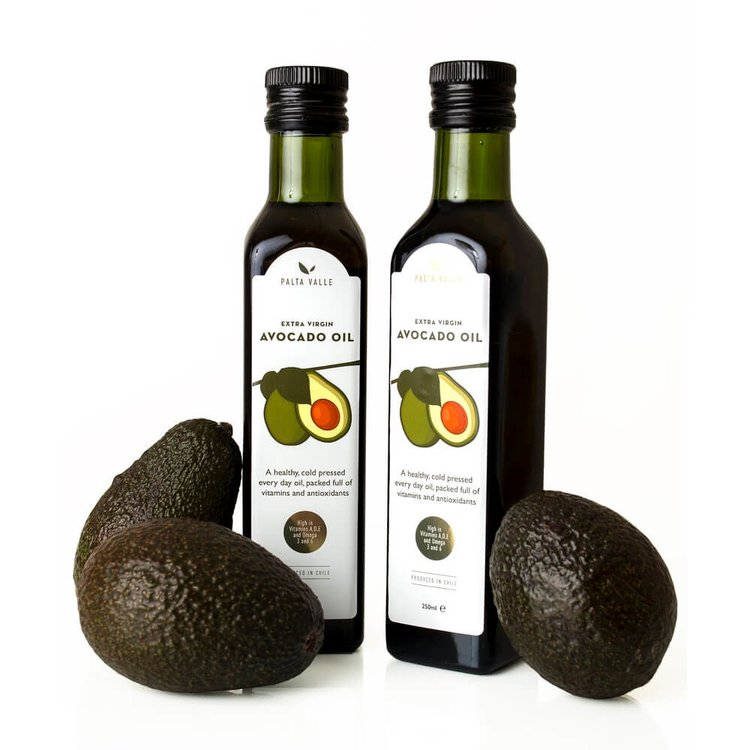 2 x Extra Virgin Hass Avocado Oil Cold Pressed 250ml