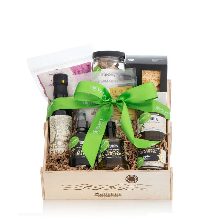 Luxury Greek Truffle Greek Gift Crate