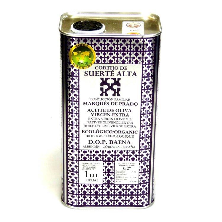 Organic Suerte Alta Picual Extra Virgin Olive Oil 1 Litre