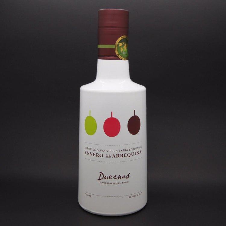 First Harvest 'Finca Duernas Envero' Organic Arbequina Olive Oil 500ml