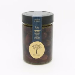 Kalamata Greek Olives from Messinia 330g (Organic, Hand-Picked)