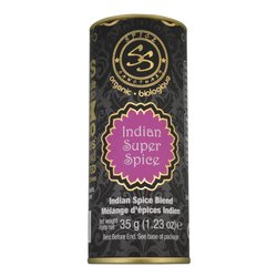 Organic Indian Spice Blend (11 Spices Inc. Paprika, Coriander, Cumin & Chilli) 35g