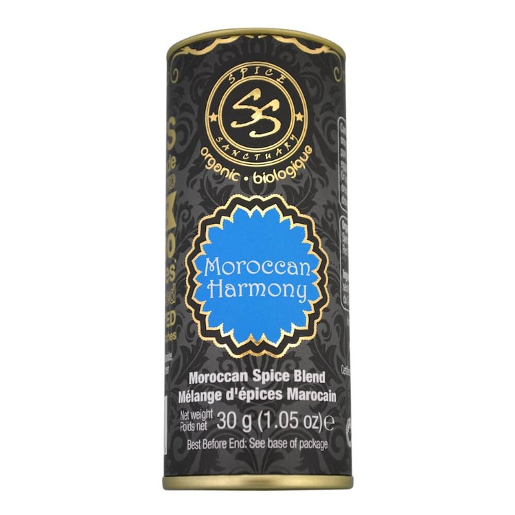 Organic Moroccan Spice Blend (Inc. Spearmint, Cumin & Cinnamon) 30g