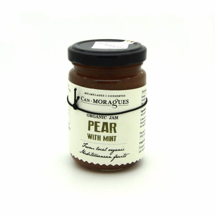 Spanish 'Aigua' Pear Jam with Mint 170g (Organic)