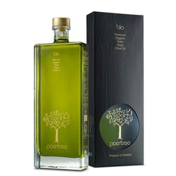 Premium Extra Virgin Greek Olive Oil 'Poe-Tree' from Messinia 200ml (Organic)