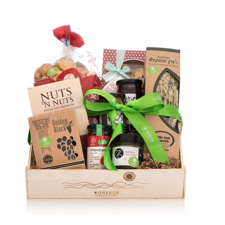 Traditional & Healthy Greek Produce Gift Crate