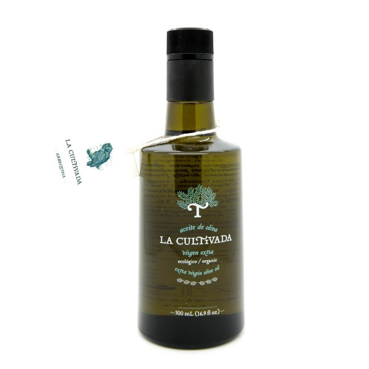 Gourmet Arbequina Extra Virgin Olive Oil in a Glass Bottle 500ml (Organic)