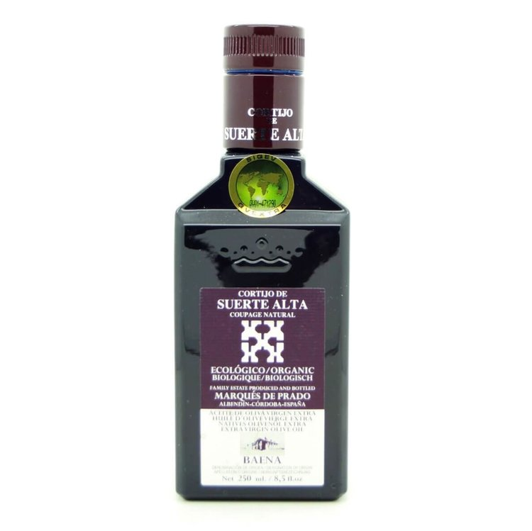 Coupage Extra Virgin Spanish Olive Oil with Picudo, Hojiblanca & Picual Olives 250ml (Organic)