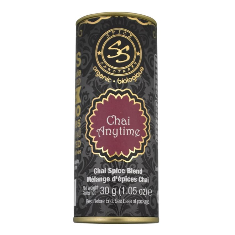 Organic Chai Spice Blend For Tea, Desserts & Smoothies 30g