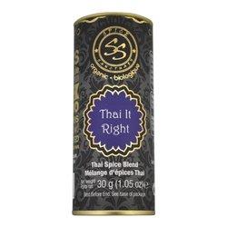 Organic Thai Spice Blend (Inc. Lemongrass, Galangal & Kaffir Lime) 30g