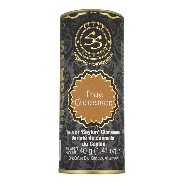 Organic True Cinnamon (Ceylon Cinnamon) 40g