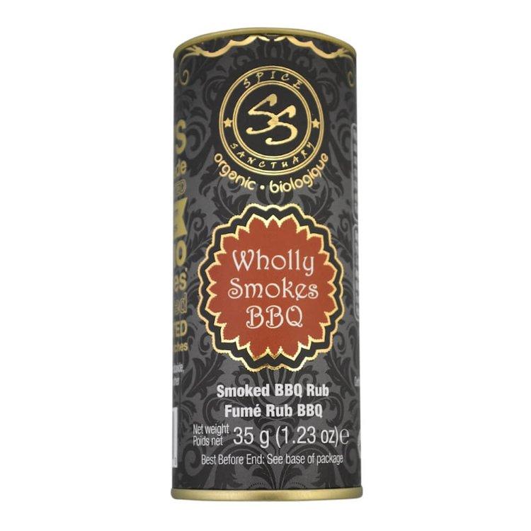 Organic BBQ Spice Blend Rub (Inc. Pepper, Garlic & Smoked Paprika) 35g