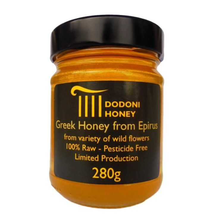 Greek Raw Honey With Wild Flowers from Epirus (Limited Production) 280g