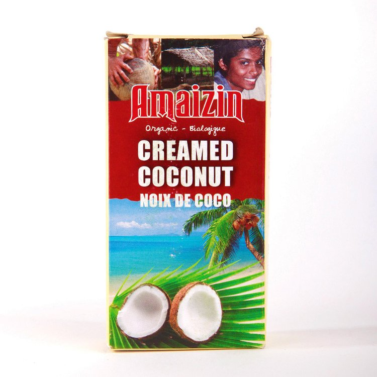 Organic Creamed Coconut Milk 200g