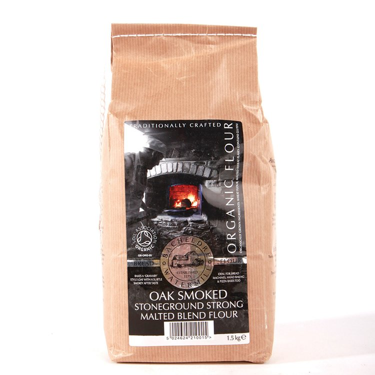 Oak Smoked Stoneground Strong Malted Blend Flour 1.5kg