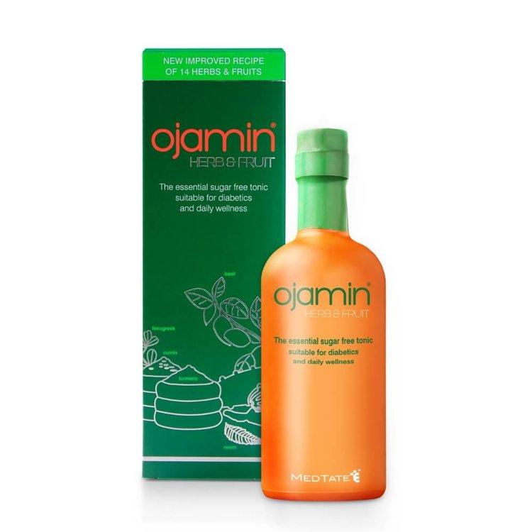 Herb and Fruit Sugar-Free Tonic Drink 'Ojamin' with 14 Herbs 250ml (Inc. Aloe Vera & Turmeric)
