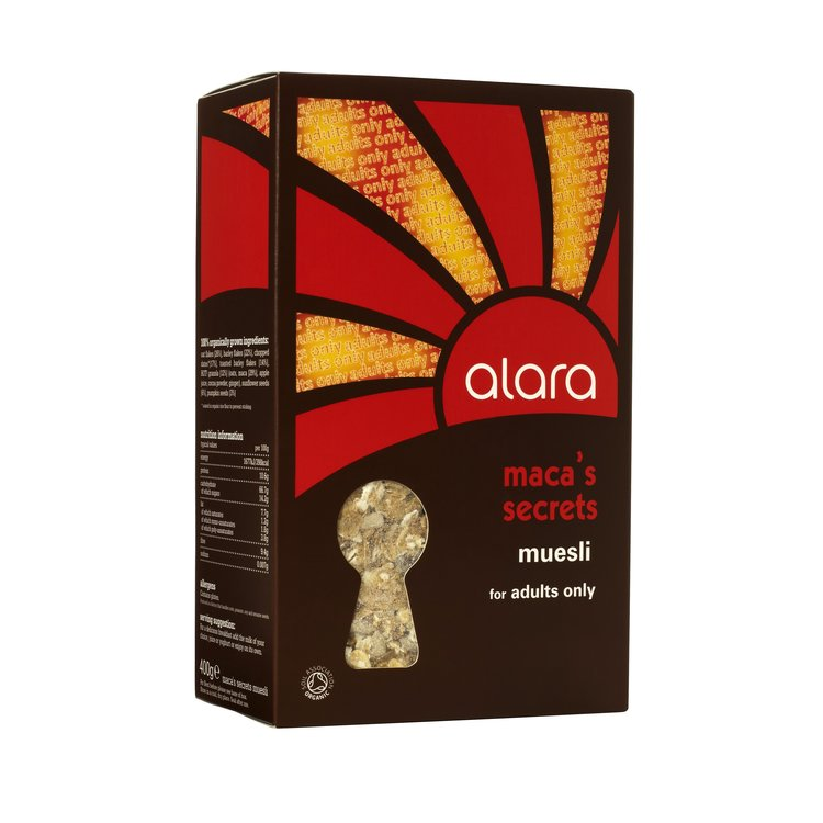 Maca's Secrets Muesli for Adults 400g