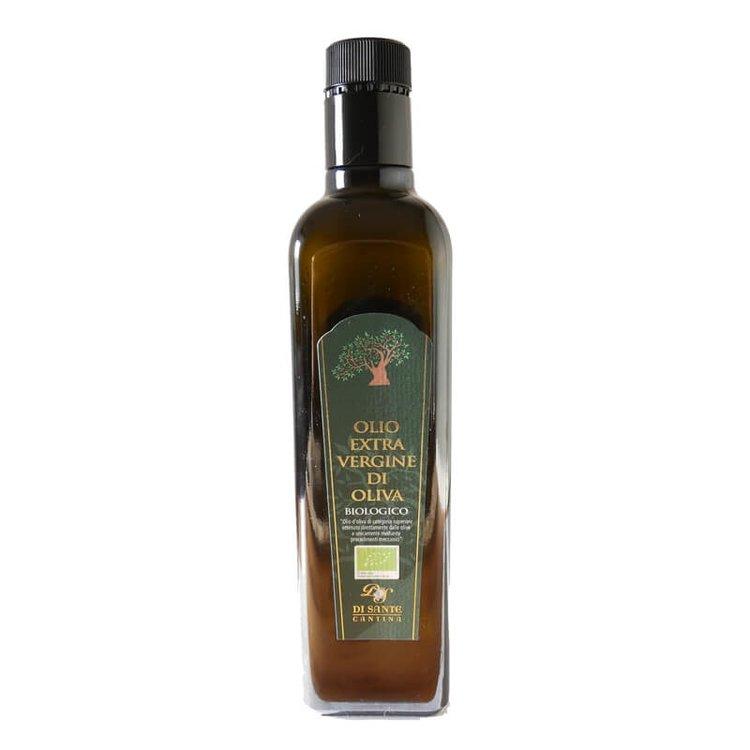 Organic Italian Olive Oil - Artisan, Premium Quality & Single Estate 500ml By Di Sante