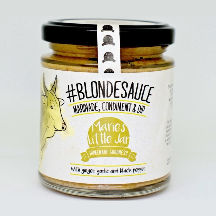 2 x 'Blonde Sauce'  - West African Condiment for Meat, Fish and Vegetable Marinade 190ml
