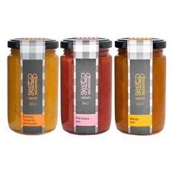 Spring Jam & Marmalade Preserves Set Inc. Pink Guava, Mango & Tangerine 3 x 255g