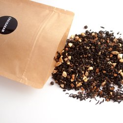 Masala Spice Loose Leaf Chai Tea Blend 125g (With Assam Leaves, Cinnamon, Ginger & Spices)