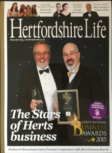 27Nov15 Herts Business Awards