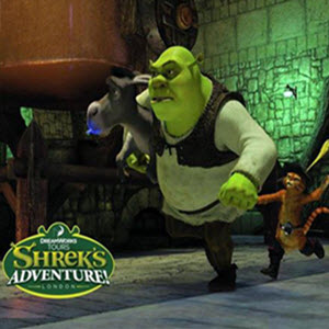 DreamWorks Tours, Shrek's Adventure