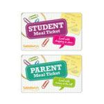 Sainsburys Student Meal Card