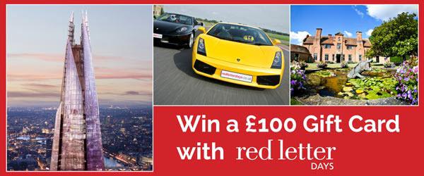 Win a £100 Gift Card