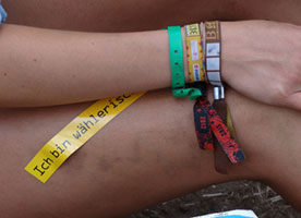 Customised Wristbands