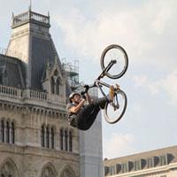 Displaying BMX Bikes