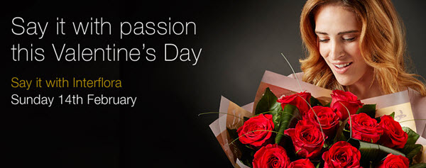 Win this beautiful bouquet from Interflora in time for Valentine's Day