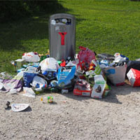 Sponsored Litter Cleaning