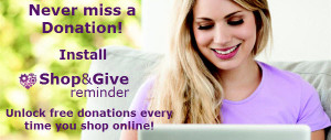 Shop and Give cause payments