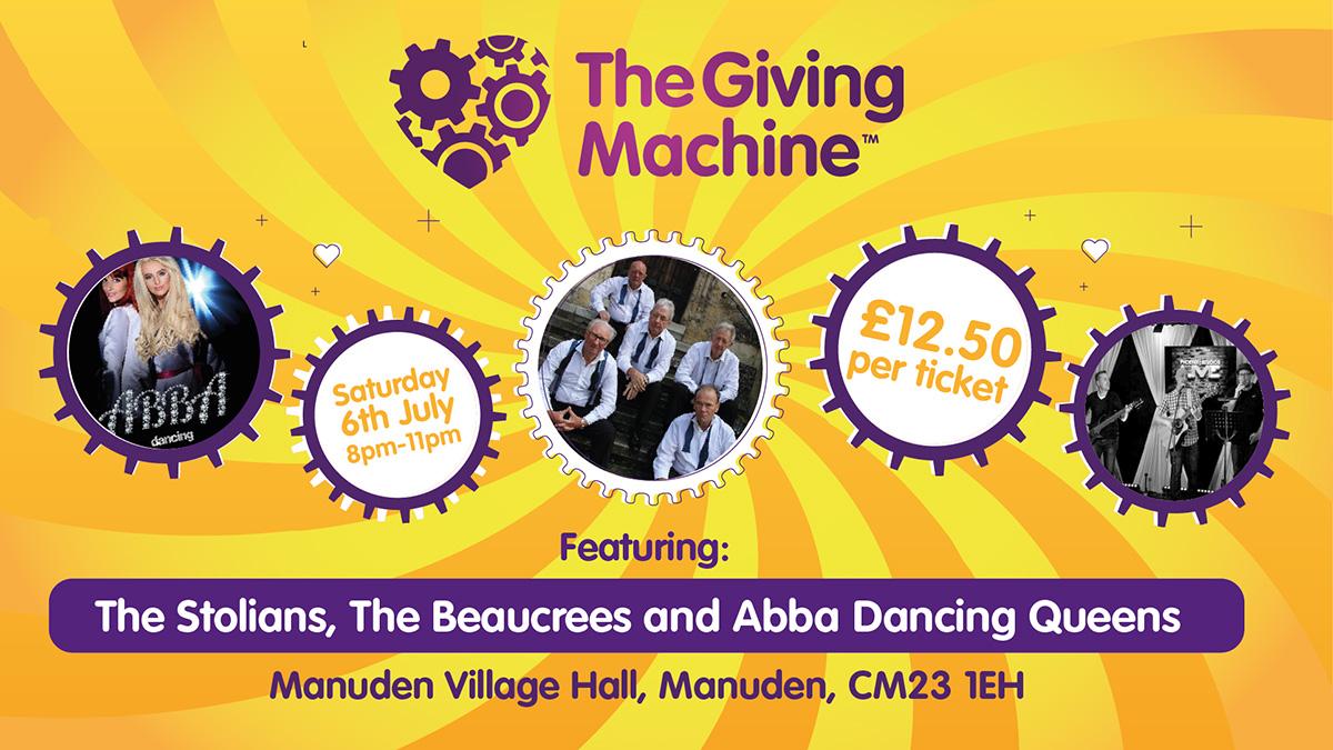 TheGivingMachine charity gig
