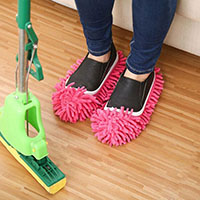 Dust Cleaning Mop Slippers