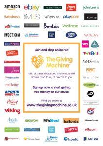 Retailers on TheGivingMachine